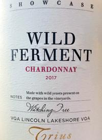 Trius Showcase Wild Ferment Chardonnay Watching Tree Vineyardtext
