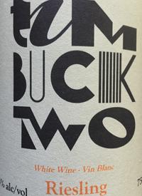 Unsworth Vineyards TimBuck Two Rieslingtext