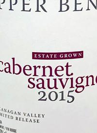 Upper Bench Cabernet Sauvignon Estate Grown Limited Releasetext