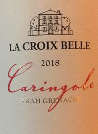 Domaine La Croix Belle Caringole Rosétext