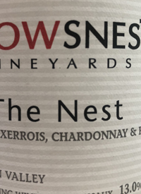 Crowsnest The Nest Pinot Auxerrois Chardonnay Rieslingtext