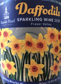 Seaside Pearl Daffodils Sparkling Winetext