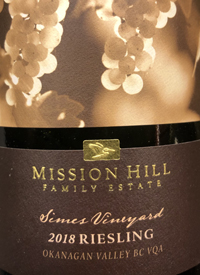 Mission Hill Terroir Collection Simes Vineyard Rieslingtext