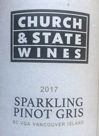 Church and State Sparkling Pinot Gristext