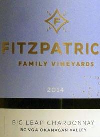 Fitzpatrick Family Vineyards Big Leap Chardonnaytext