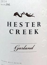 Hester Creek Garlandtext