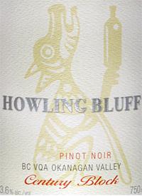 Howling Bluff Pinot Noir Century Blocktext