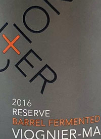 Intersection Reserve Barrel Fermented Viognier-Marsannetext