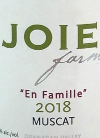 JoieFarm En Famille Reserve Muscat