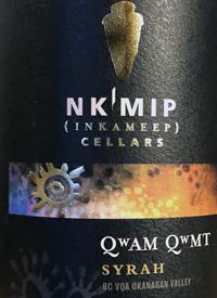Nk'Mip Cellars Qwam Qwmt Syrahtext