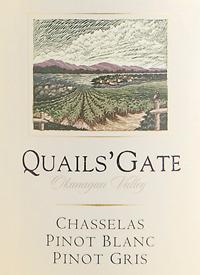 Quails' Gate Chasselas - Pinot Blanc - Pinot Gris