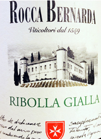 Rocca Bernarda Ribolla Gialla