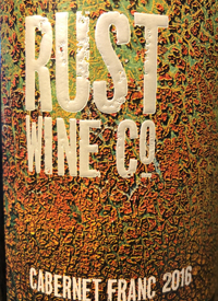 Rust Wine Co. Cabernet Franctext