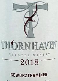 Thornhaven Gewurztraminertext