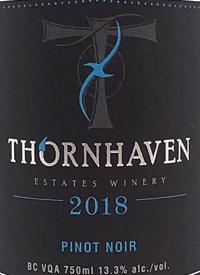 Thornhaven Pinot Noirtext
