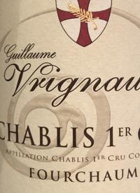 Guillaume Vrignaud Chablis 1er Cru Fourchaumetext