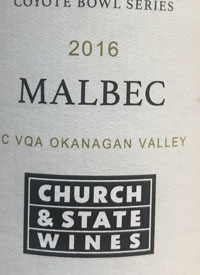 Church and State Winery Malbectext