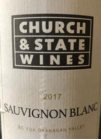 Church & State Sauvignon Blanctext