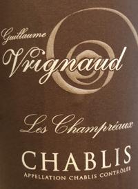 Guillaume Vrignaud Les Champréaux Chablistext