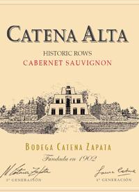 Catena Alta Historic Rows Cabernet Sauvignontext