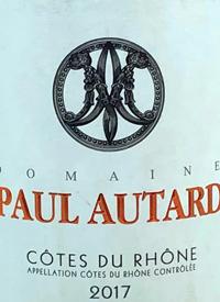 Domaine Paul Autard Côtes du Rhonetext