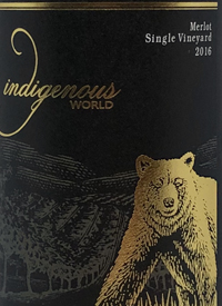Indigenous World Merlot Single Vineyardtext