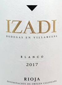 Izadi Rioja Blancotext