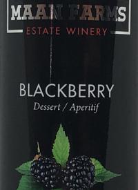 Maan Farms Blackberry Dessert / Aperitiftext