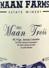 Maan Farms Maan Trois (Bordeaux Blend)text