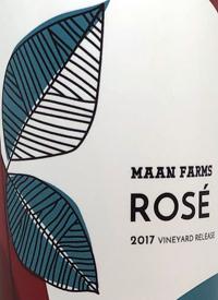 Maan Farms Rosé Vinyard Releasetext