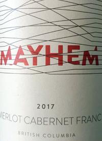 Mayhem Merlot Cabernet Franctext
