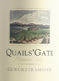 Quails' Gate Gewürztraminertext
