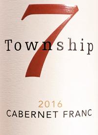 Township 7 Reserve Cabernet Franc Romar Vineyardtext