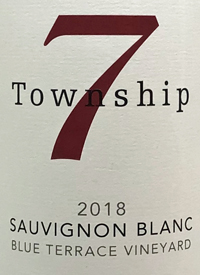 Township 7 Sauvignon Blanc Blue Terrace Vineyard