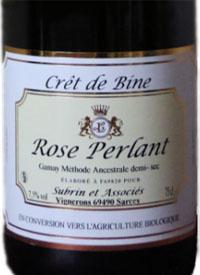 Le Crêt de Bine Rosé Perlanttext