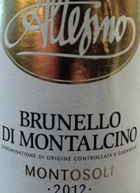 Altesino Brunello di Montalcino Montosolitext