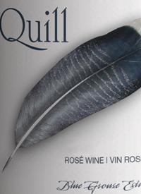 Blue Grouse Quill Rosétext