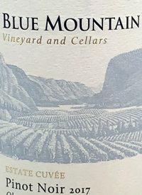 Blue Mountain Estate Cuvée Pinot Noirtext