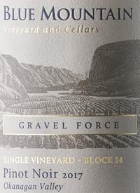 Blue Mountain Block 14 Gravel Force Pinot Noirtext