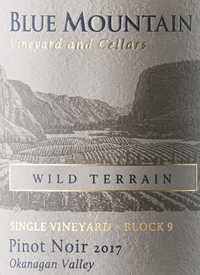 Blue Mountain Single Vineyard Block 9 Wild Terrain Pinot Noir