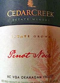 CedarCreek Pinot Noirtext