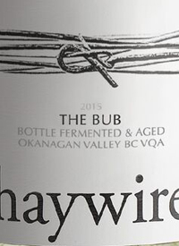 Haywire The Bub Bottle Fermented and Agedtext