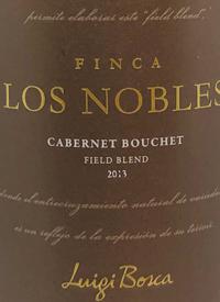 Luigi Bosca Finca Los Nobles Cabernet Bouchet Field Blendtext