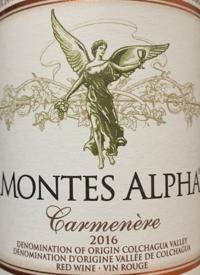 Montes Alpha Carmeneretext
