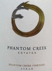 Phantom Creek Estates Phantom Creek Vineyard Syrahtext