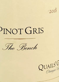 Quails' Gate The Bench Pinot Gris
