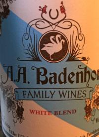 A. A. Badenhorst White Blendtext