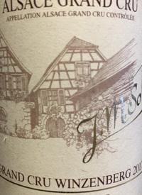 J. M. Sohler Grand Cru Winzenberg Pinot Gristext