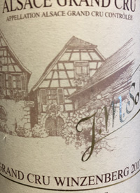 J. M. Sohler Grand Cru Winzenberg Pinot Gris