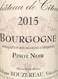 Philippe Bouzereau Bourgogne Pinot Noirtext